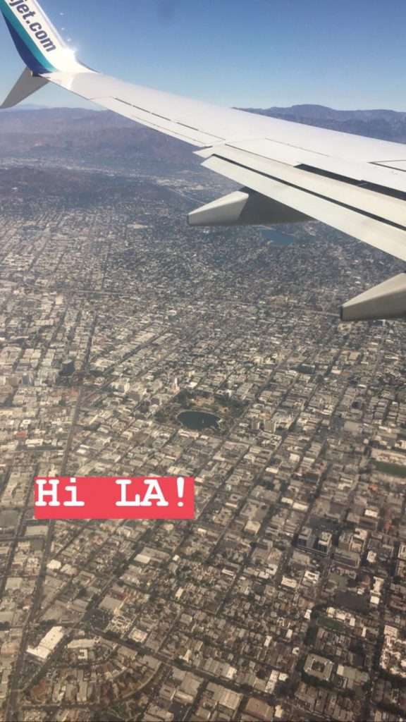 wycieczka po kalifornii