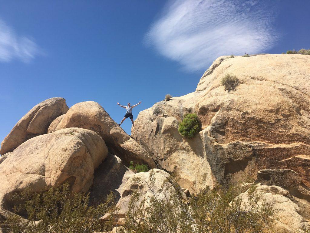 Joshua Tree National Park Jumbo rock