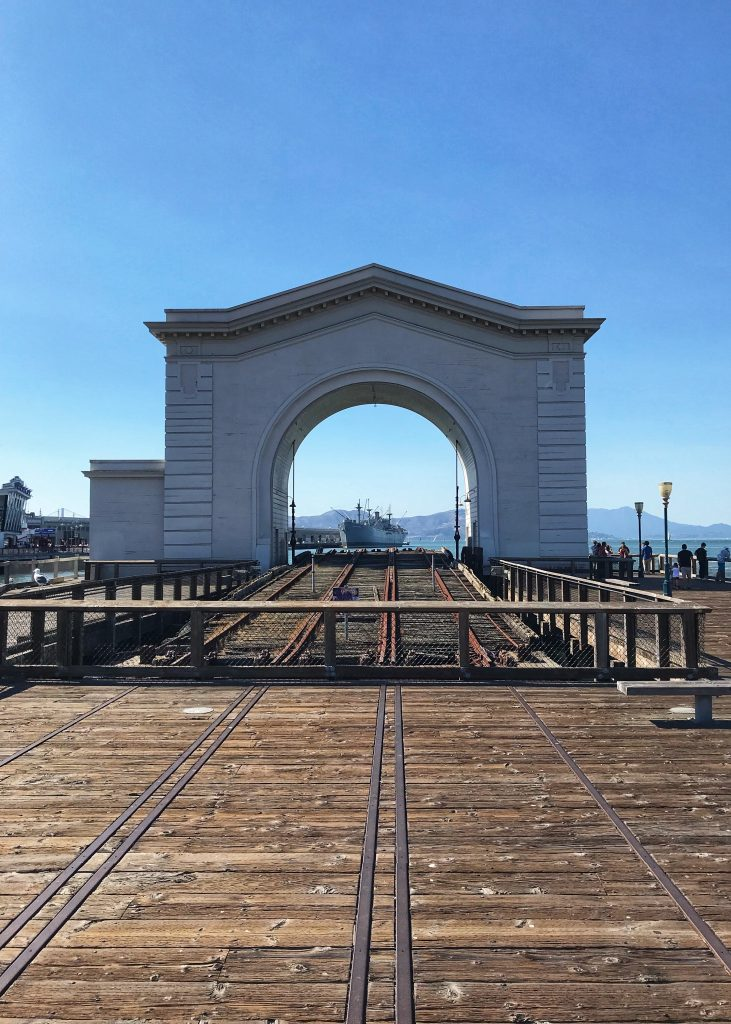 Zwiedzanie San Francisco - arch