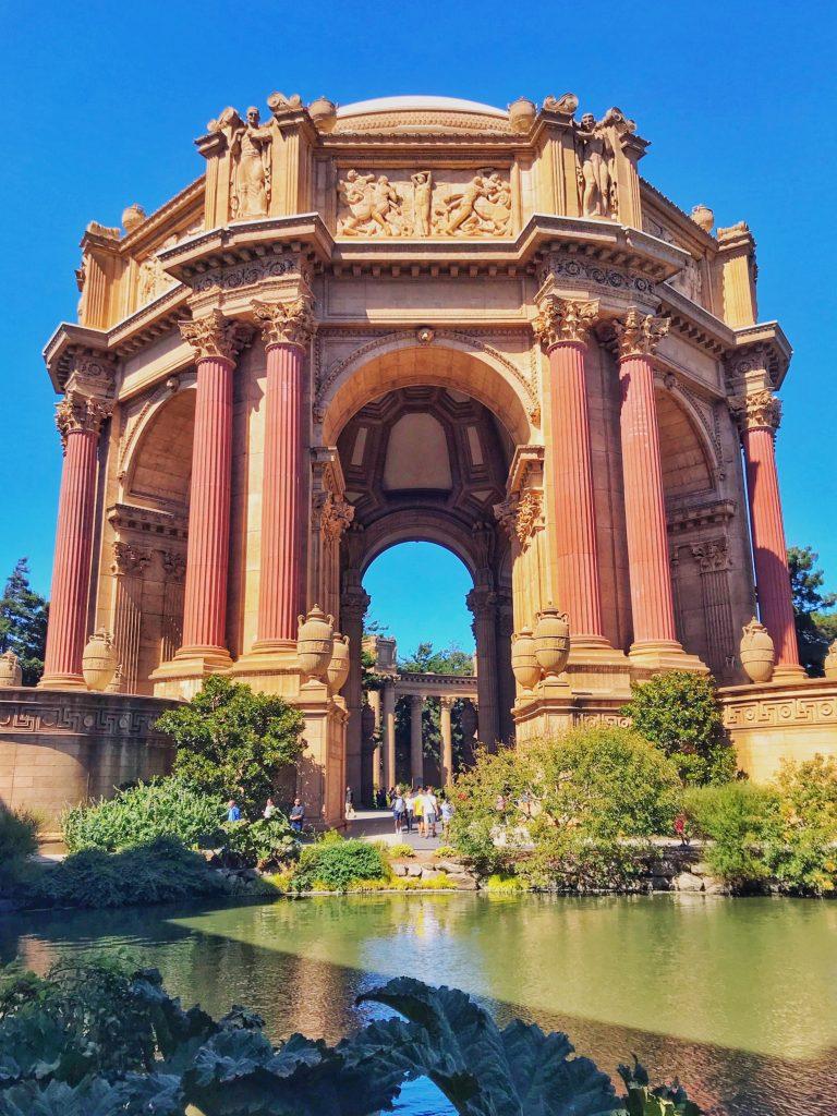 Zwiedzanie San Francisco zabytek :P
