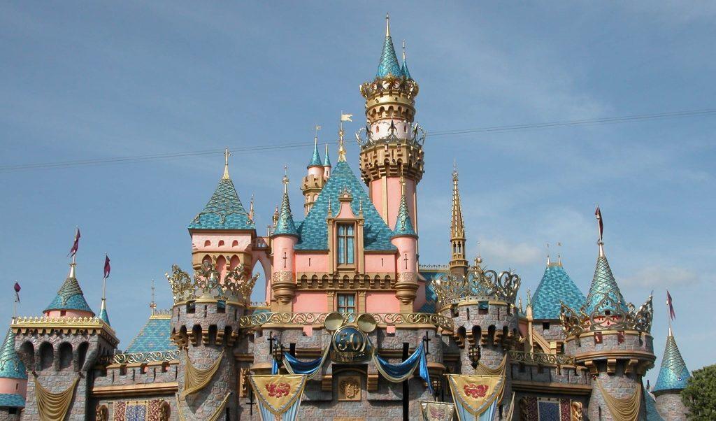 Disneyland w Kalifornii zamek