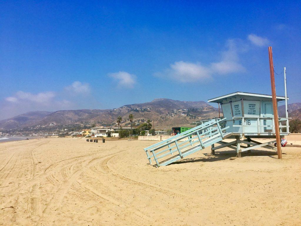 Zwiedzanie Los Angele - Malibu Zuma Beach