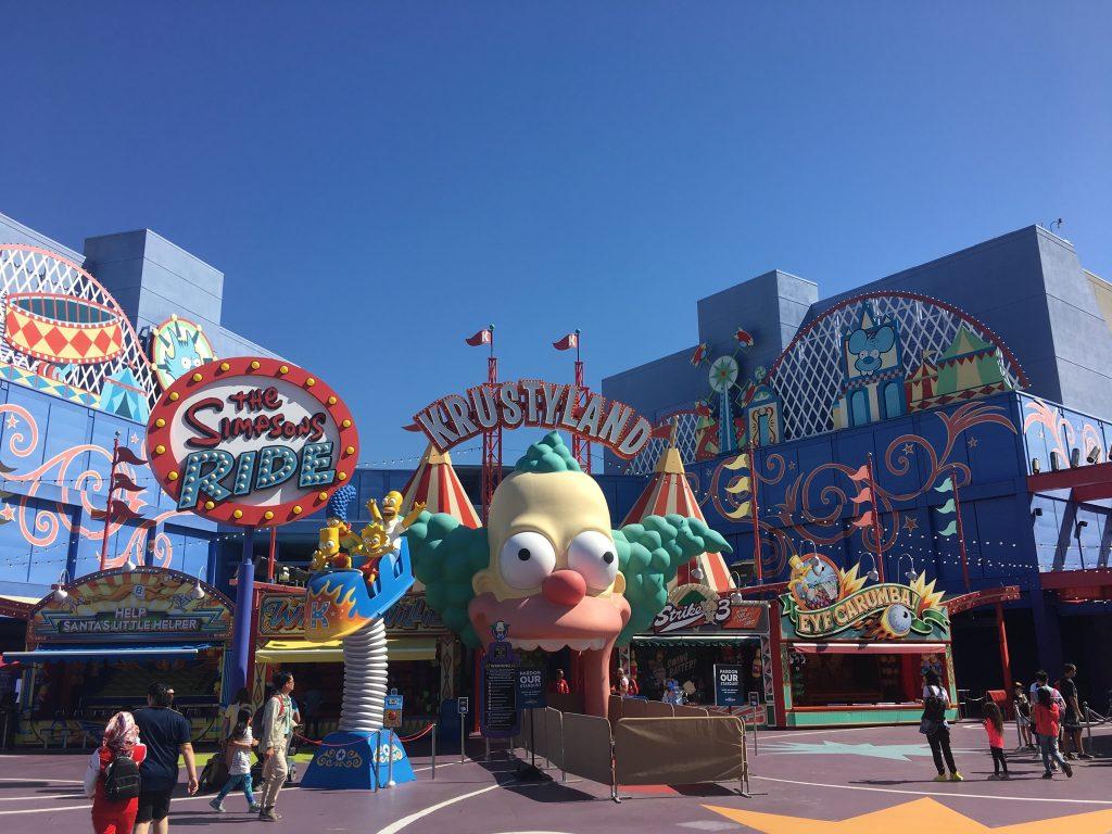 Krusty Land - The Simpsons