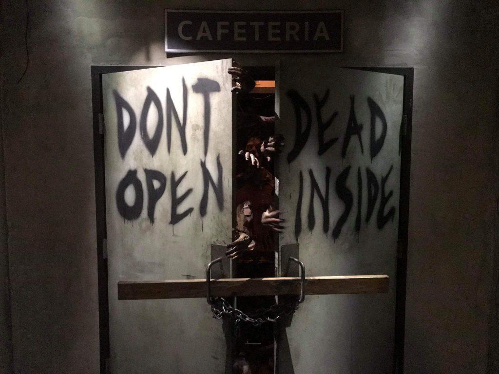 The Walking Dead doors