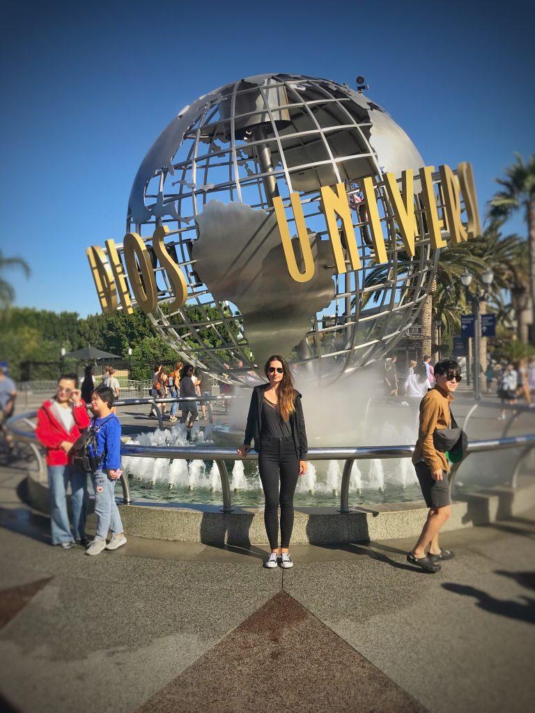 Fontanna Universal Studios Hollywood