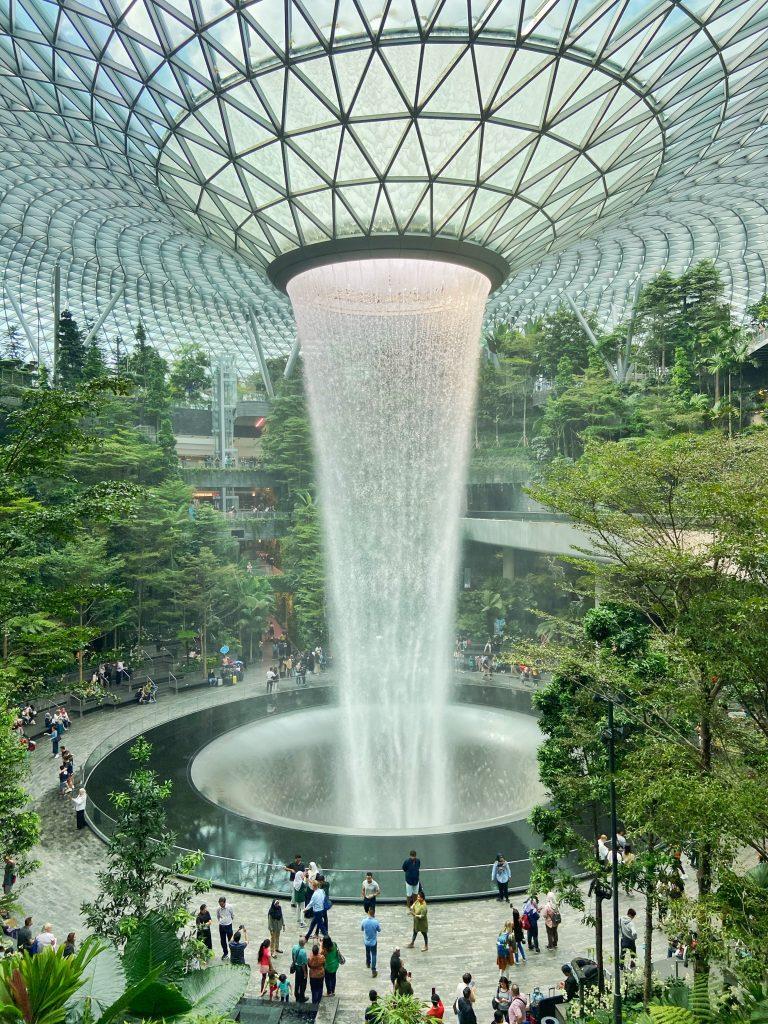 Jewel Przesiadka w Singapurze