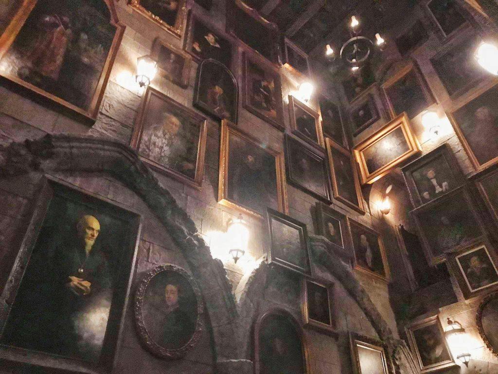 Świat Harrego Pottera - obrazy
