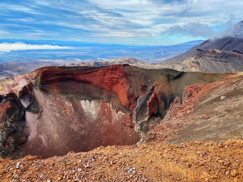 Szlak Tongariro Alpine Crossing Red Crater
