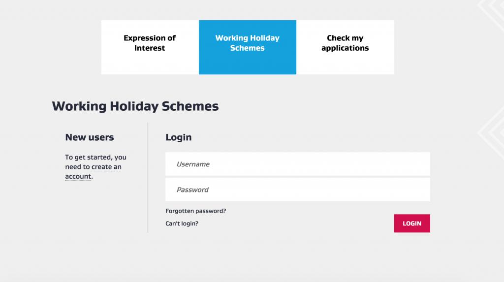 working holiday visa do nowej zelandii
