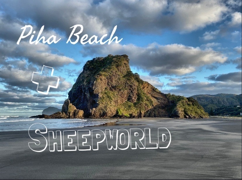 Piha Beach and Sheepworld