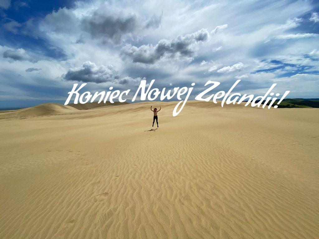 Zwiedzanie Nowej Zelandii Giant Sand Dunes title