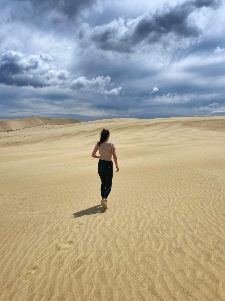 Giant Sand Dunes Nowa Zelandia