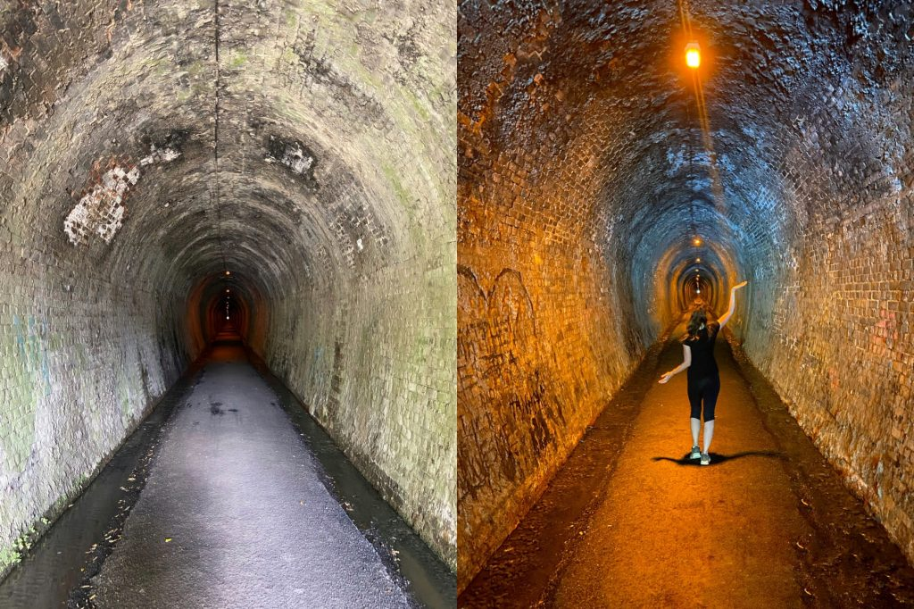 tunel kolejowy karangahake gorge