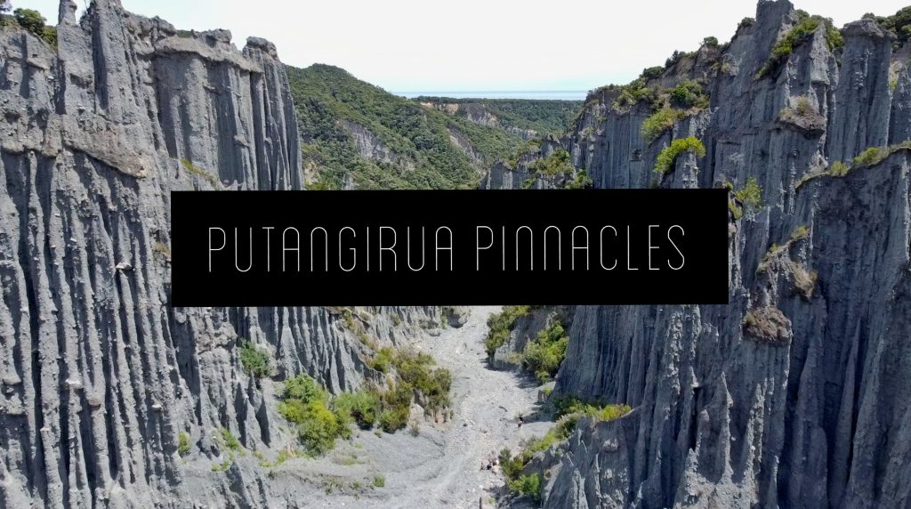 Putangirua Pinnacles i Cape Palliser