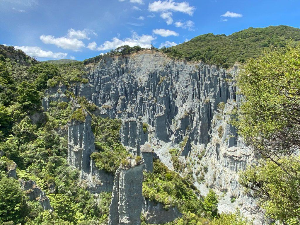 Putangirua Pinnacles Lookout via Ridge Track
