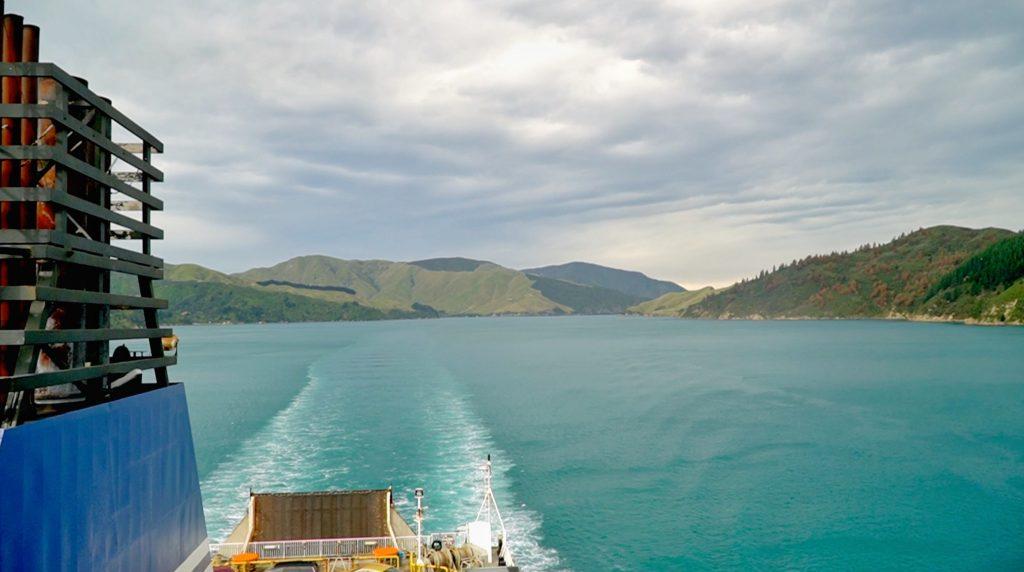 przeprawa promem w Nowej Zelandii