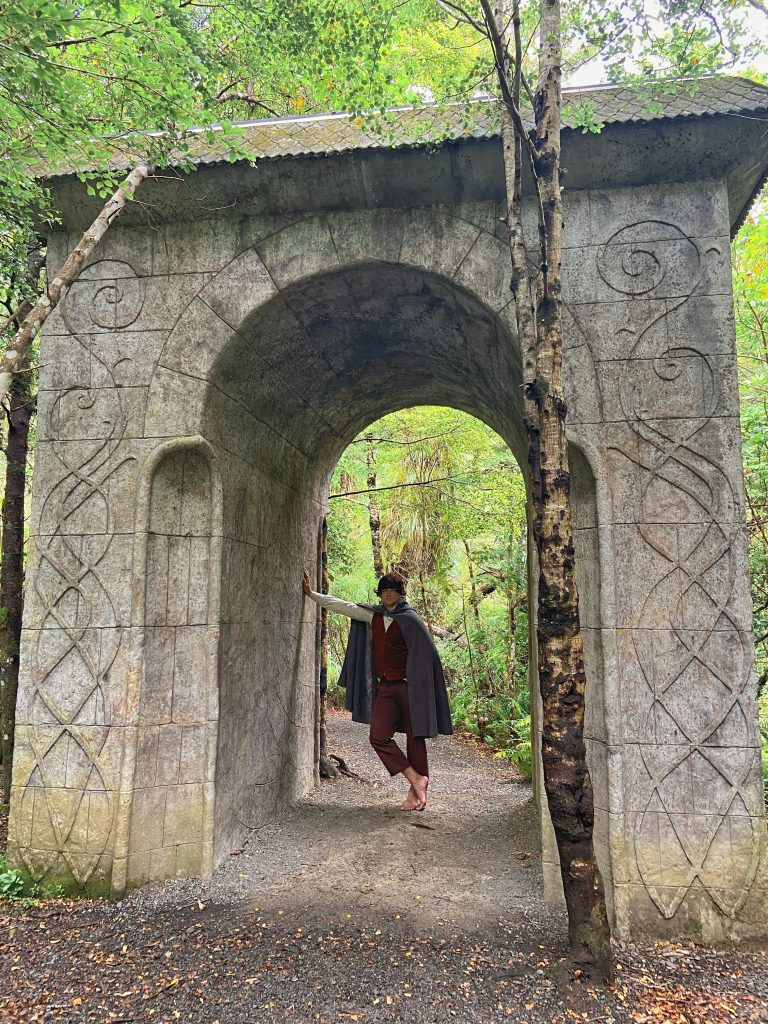 brama Rivendell łuk Nowa Zelandia