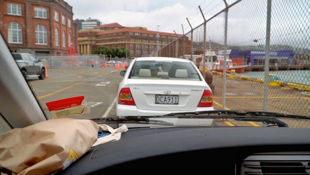 Prom Nowa Zelandia port w Wellington