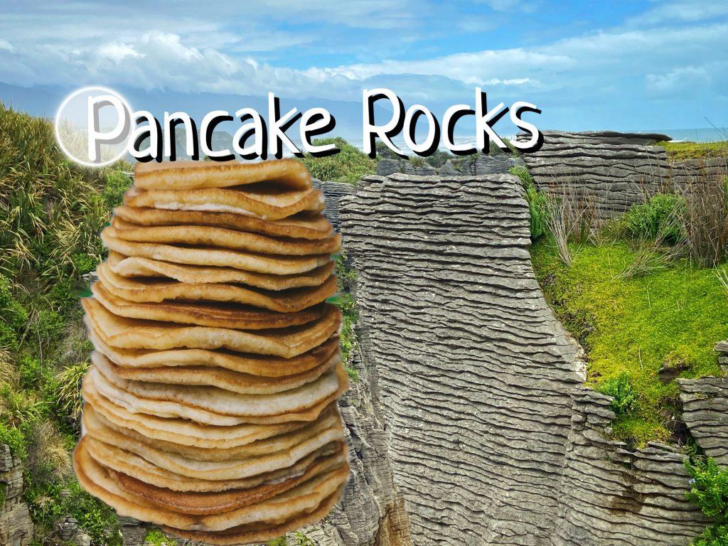 Pancake Rocks Skały Naleśnikowe