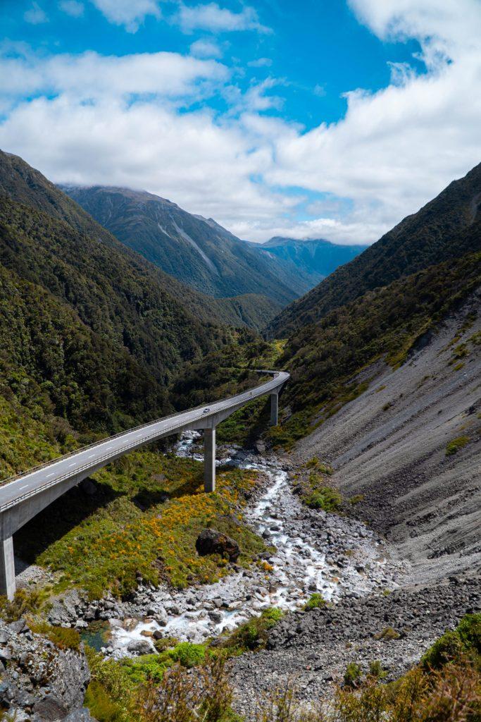 Death's Corner Arthur's Pass National Park